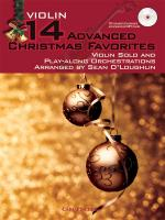 14 Advanced Christmas Favourites - Violin Sheet Music