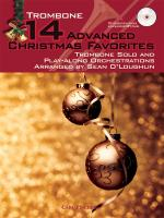 14 Advanced Christmas Favourites - Trombone Sheet Music