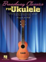 Broadway Classics For Ukulele Sheet Music