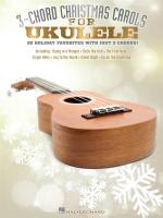 3-Chord Christmas Carols For Ukulele Sheet Music