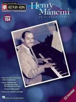 Jazz Play-Along Volume 154: Henry Mancini Sheet Music