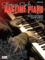 Christmas Carols For Ragtime Piano Sheet Music