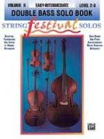 String Festival Solos Volume II (Double Bass) Sheet Music