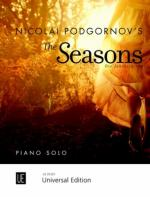 Universal Edition Podgornov The Seasons Sheet Music