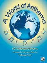 Alfred Music Publishing A World Of Anthems Sheet Music