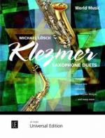 Universal Edition Klezmer Saxophone Duets Sheet Music