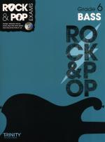 Trinity College London: Rock & Pop Bass Guitar - Grade 6 Sheet Music