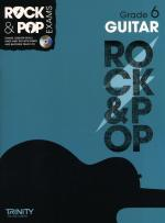 Trinity College London: Rock & Pop Guitar - Grade 6 Sheet Music