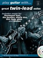 Play Guitar with... Great Twin-Lead Solos Sheet Music