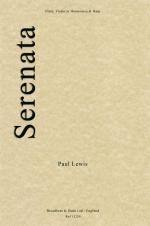 Paul Lewis: Serenata (Flute, Violin or Harmonica and Harp) Sheet Music