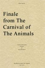 Camille Saint-Saëns - Finale from The Carnival of the Animals (Brass Quintet) Sheet Music