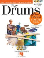 Play Drums Today! Starter Pack Sheet Music