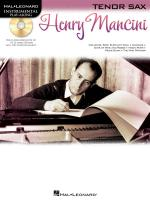 Hal Leonard Instrumental Play-Along: Henry Mancini (Tenor Saxophone) Sheet Music