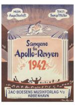 Aage Stentoft: Sangene Fra Apollo-Revyen 1942 (Voice and piano) Sheet Music