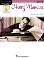 Hal Leonard Instrumental Play-Along: Henry Mancini (Horn) Sheet Music