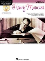 Hal Leonard Instrumental Play-Along: Henry Mancini (Viola) Sheet Music