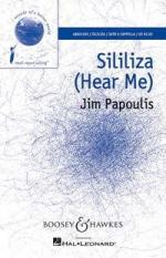 Jim Papoulis: Sililiza (Hear Me) - SATB Sheet Music