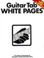 Hal Leonard White Pages Guitar Vol.1 Sheet Music