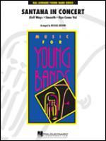 Santana In Concert, Baritone B.C. part Sheet Music