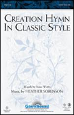 Creation Hymn In Classic Style Sheet Music