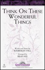 Think On These Wonderful Things Sheet Music