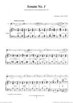 Sonata No.1 in E minor Op.38 Sheet Music