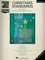 Christmas Standards Easy Jazz Play-Along Volume 6 Sheet Music