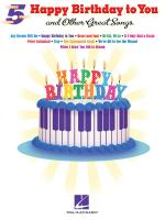 Happy Birthday To You And Other Great Songs Sheet Music