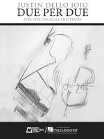 Due Per Due Violoncello (Cello) And Piano Sheet Music