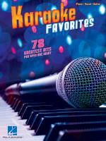 Karaoke Favorites Sheet Music