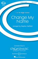 Change My Name Cme In High Voice Sheet Music Sheet Music