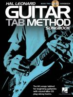 Hal Leonard Guitar Tab Method Songbook 2 Sheet Music