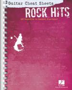 Guitar Cheat Sheets: Rock Hits 100 Mega-Hits In Musical Shorthand Sheet Music