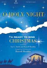 O Holy Night! A Ready To Sing Christmas Sheet Music
