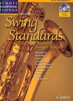 Schott Swing Standards A-sax Sheet Music