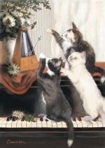 Purrfect Timing 10-Pk Art Cards Sheet Music