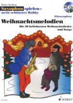 Schott Hobby Weihnachtsmelodien A-sax Sheet Music