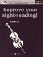 Improve Your Sight-Reading! Cello Grade 4-5 (2012 Edition) Sheet Music