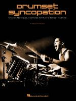 Bruce Patzer: Drumset Syncopation Sheet Music