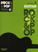 Trinity College London: Rock & Pop Guitar - Grade 8 Sheet Music