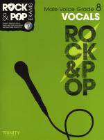 Trinity College London: Rock & Pop Male Voice - Grade 8 Sheet Music