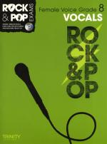 Trinity College London: Rock & Pop Female Voice - Grade 8 Sheet Music