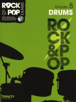 Trinity College London: Rock & Pop Drums - Grade 8 Sheet Music