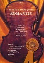 1st Position String Quartet - Romantic Sheet Music