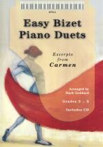 Georges Bizet: Easy Bizet Piano Duets Sheet Music