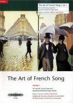 The Art Of French Song Volume 1 (Medium-Low Voice) Sheet Music
