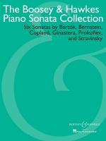 The Boosey & Hawkes Piano Sonata Collection Sheet Music