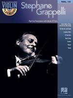 Violin Play-Along Volume 15: Stephane Grappelli Sheet Music