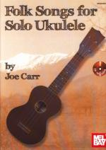 Mel Bay Folk Songs For Solo Ukulele Sheet Music