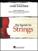 Come Together, percussion part Sheet Music